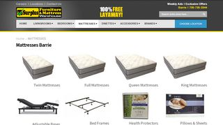 Surplus Mattress Barrie