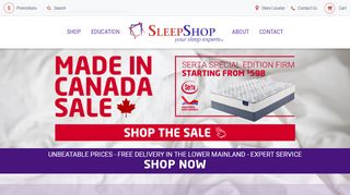 Sleep Shop Abbotsford