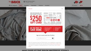 Brick Mattress Etobicoke