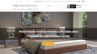High Sun Mattress Surrey
