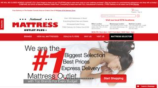 National Mattress Mississauga