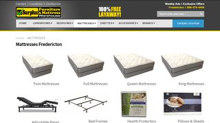 Surplus Mattress Fredericton
