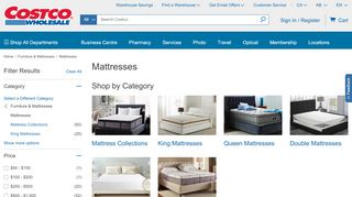Costco Mattress Vaughan