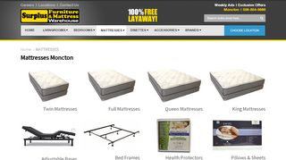 Surplus Mattress Moncton